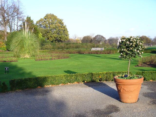 The East Terrace Garden, Kensington Palace