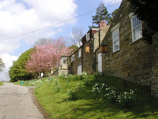Hotel on track to the Moors from Lastingham