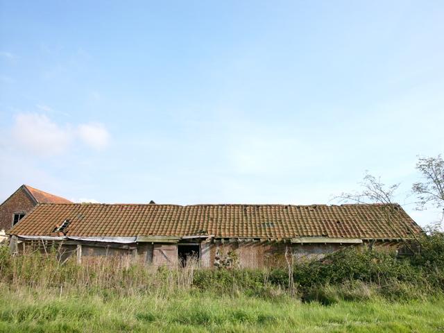 Farm building at Retreat Farm
