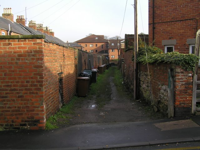 Alley behind Princess Road