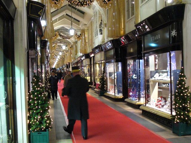 Christmas at Burlington Arcade
