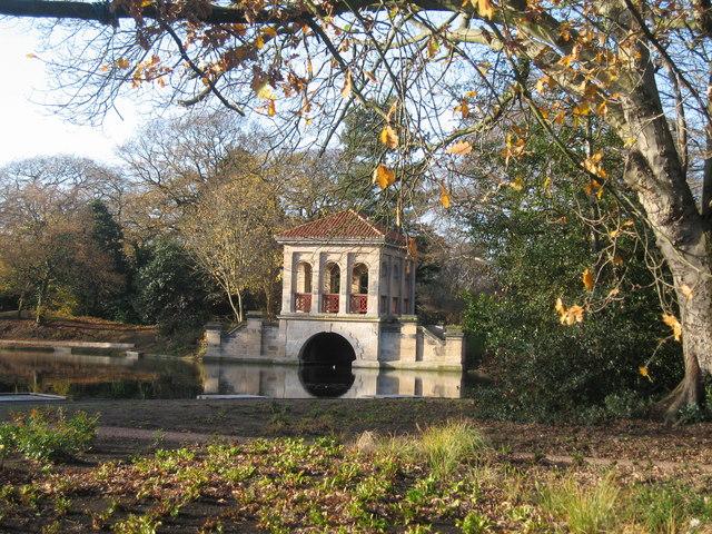The Roman Boathouse, Birkenhead Park