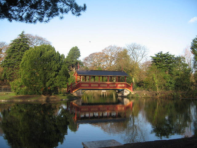 Swiss Bridge, Birkenhead Park