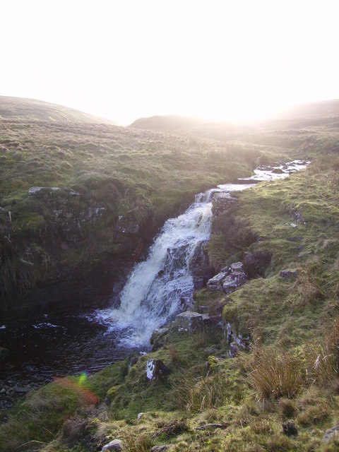 Waterfall ,Great Gill
