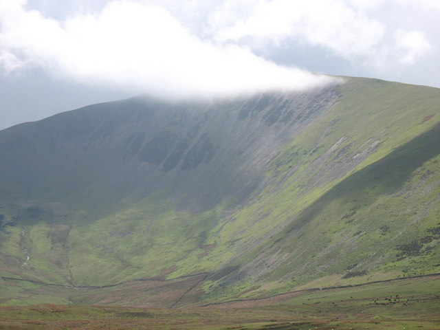 Cwm Hafod and the Northern Slopes of Moel Eilio