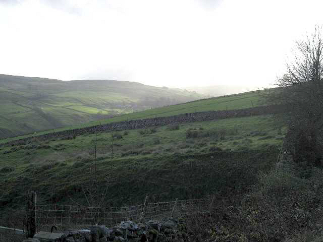 Towards The Head Of Walden Dale