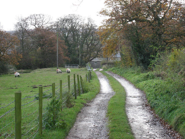 The Track From Howe Farm