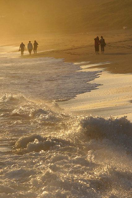 Surf at Praa Sands
