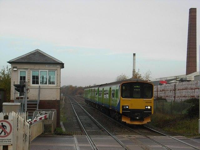 Hartlebury level crossing