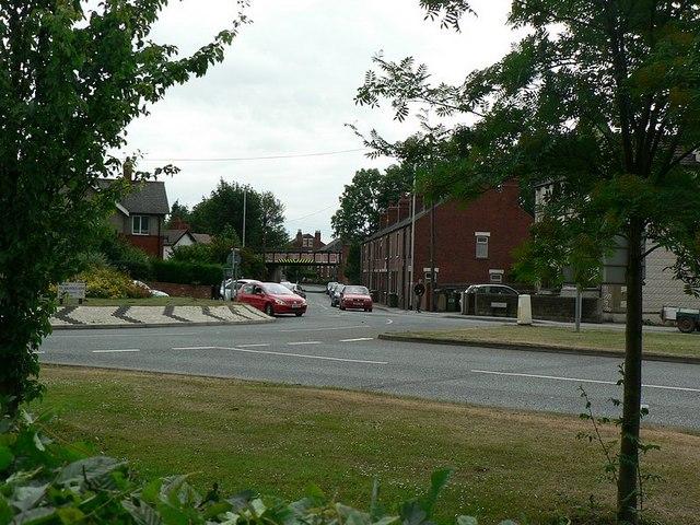Denby Dale Road / Thornes Lane roundabout