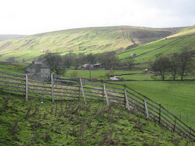 Looking Down On Grange Farm