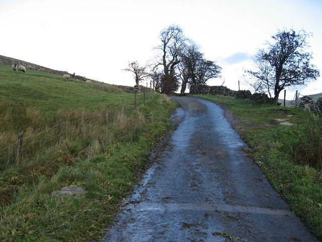 The Road To West Burton