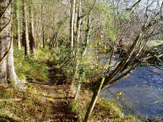 Footpath along the River Ystrad