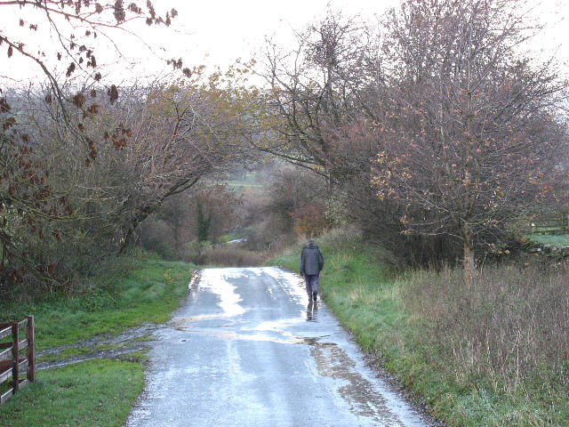 Walking To Thoralby