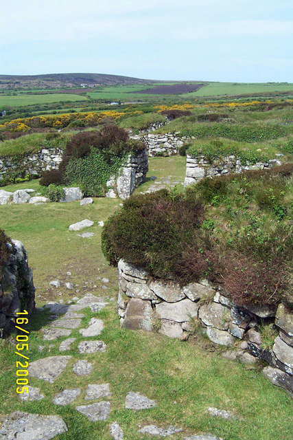 Chysauster Bronze Age Settlement