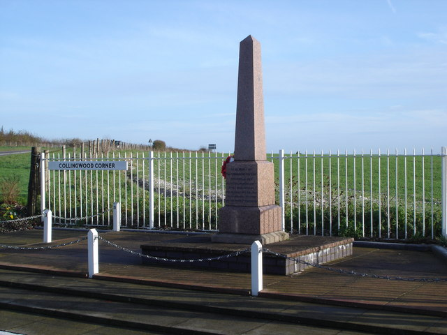 War Memorial at Collingwood Corner