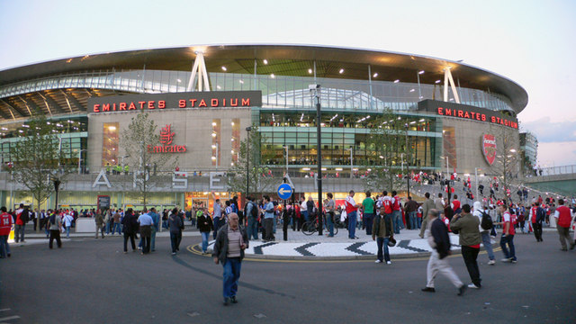 Match night at Arsenal's new stadium