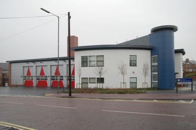 Gateshead fire station