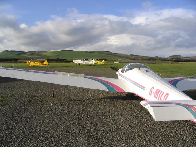 Borders Gliding Club, Milfield
