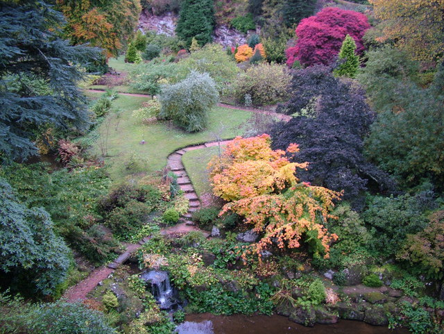 Autumn at Kildrummy Castle Gardens
