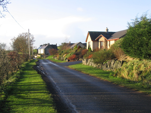 Houses near Graden Farm