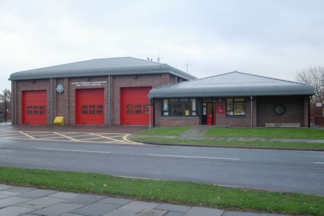 Newton Aycliffe fire station