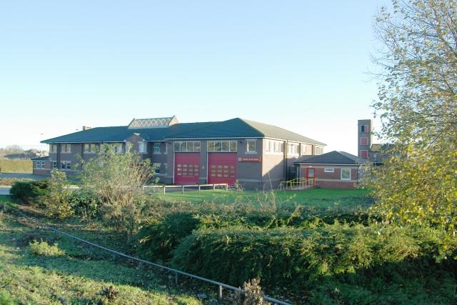 Wallsend fire station