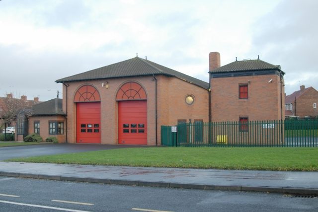 Wheatley Hill fire station