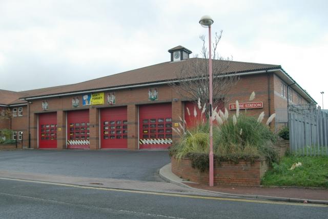 Sunderland Central fire station