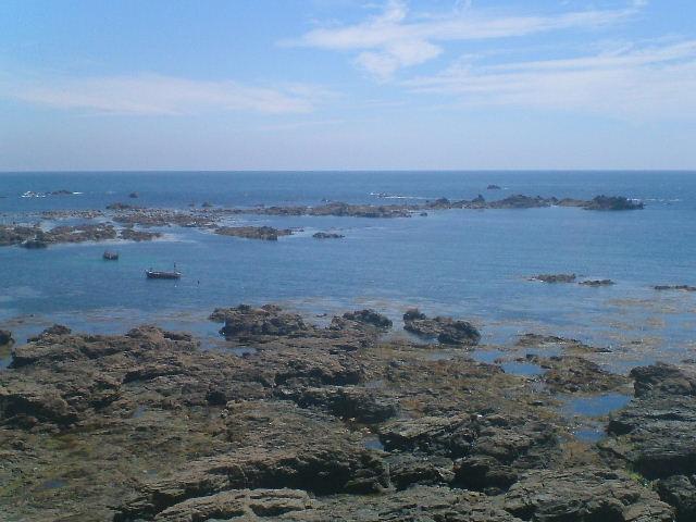 Rocks at Lizard Point