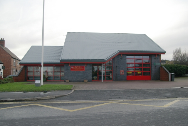 Polesworth fire station