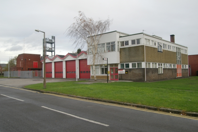 Coalville fire station