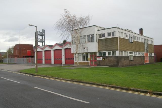 Coalville fire station
