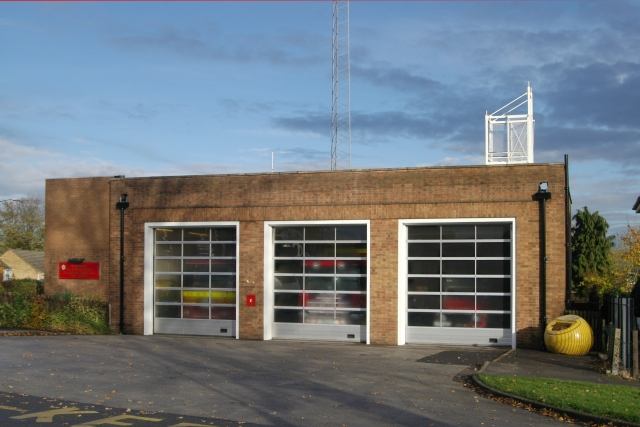 Atherstone fire station