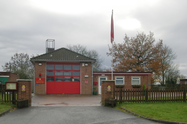Brinklow fire station