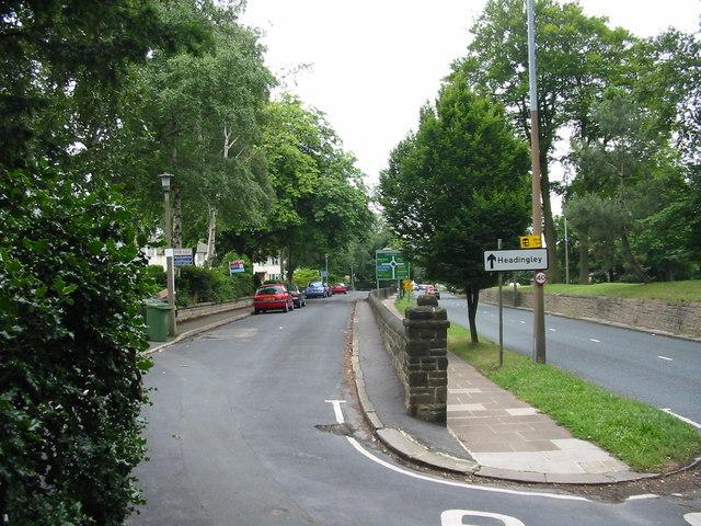 Harrogate Road Moortown Leeds Yorkshire
