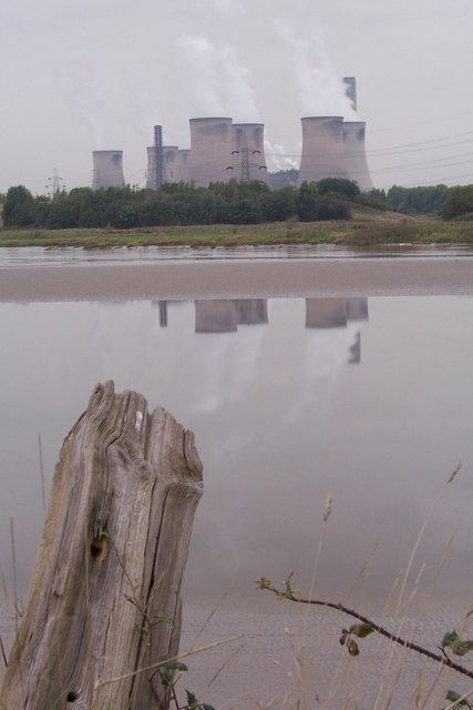 Fiddlers Ferry (From across the Mersey)