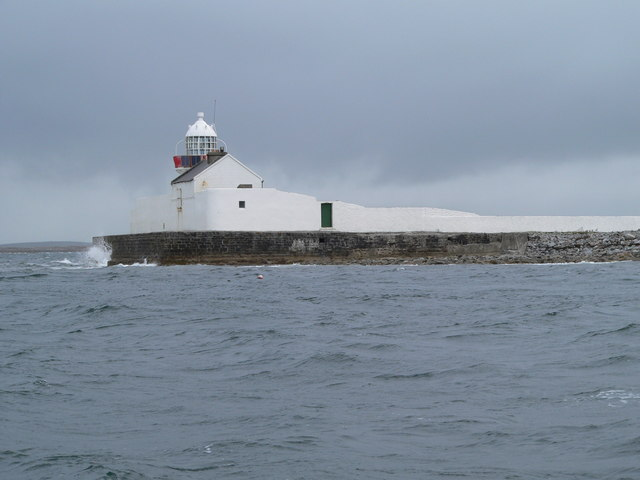 Inishgort Lighthouse, Clew Bay