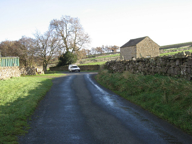 The Road To East Scrafton