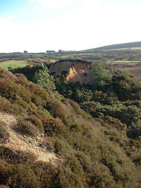 Hill Cut in Two, Godlingston Heath