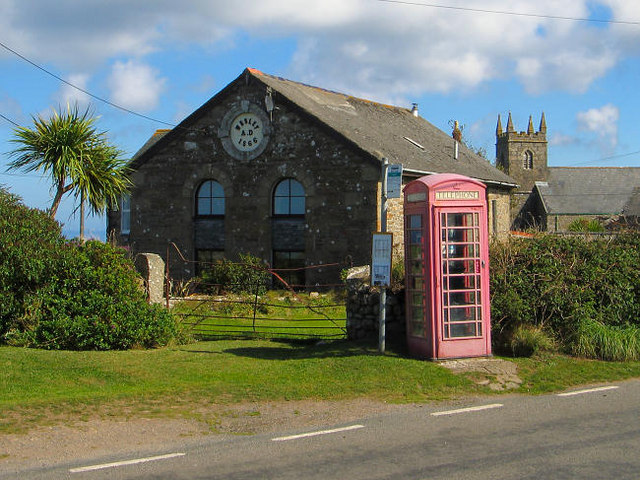 Morvah chapel