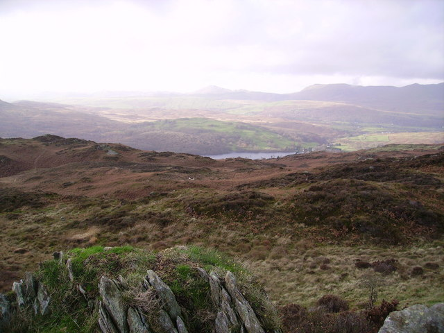 Looking towards Stickle Pike