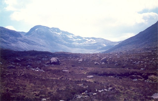 North side of Ben Eighe