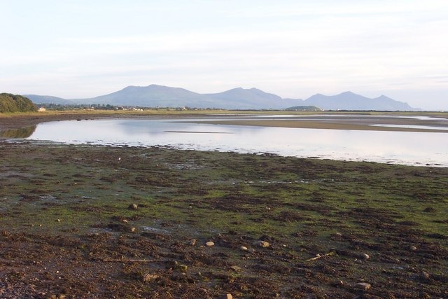 Southern end of Foryd Bay