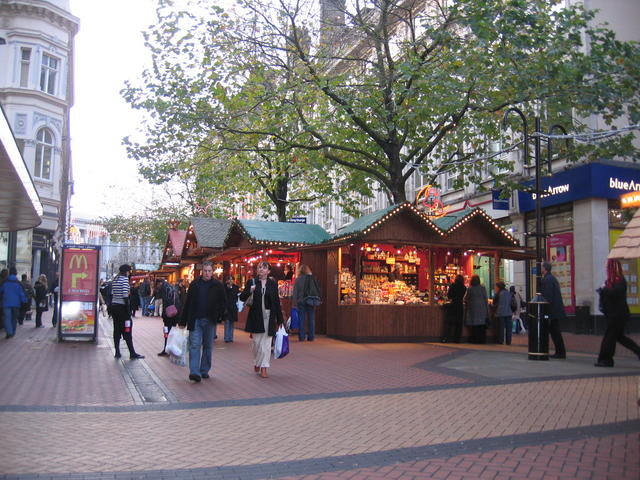 Christmas Market in New Street