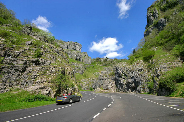 Driving up the Gorge