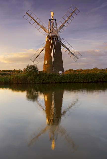 Turf Fen wind pump at How Hill