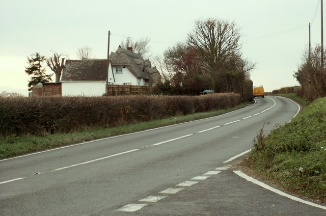 The B.184 near Little Cambridge