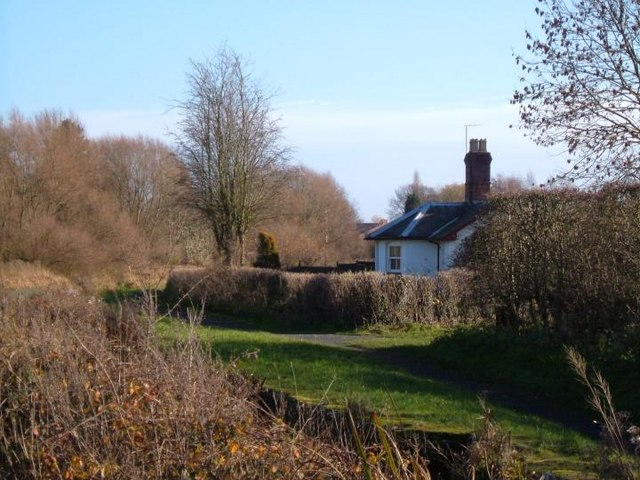 Lock keepers cottage.