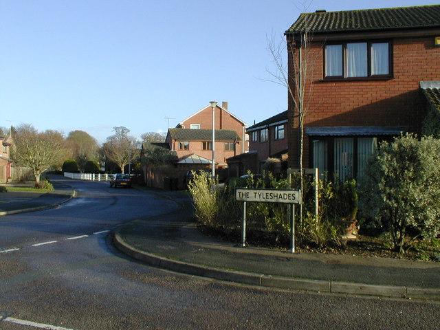 The Tyleshades / Tadburn Rd Junction  Dec.2006